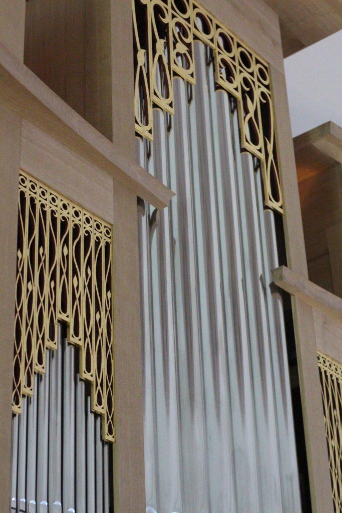 Orgel nach der Restaurierung und Erweiterung. © Nico Trimmel