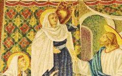 Jesus zu Gast bei Marta und Maria, Kirche in Bethanien © Helmut Heimhilcher