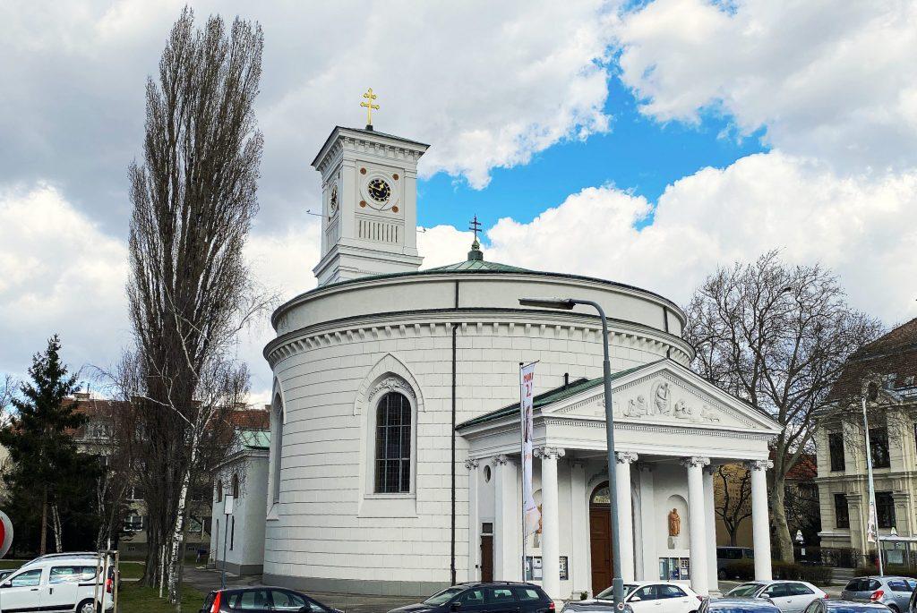Kirchengebäude. © Oliver Meidl