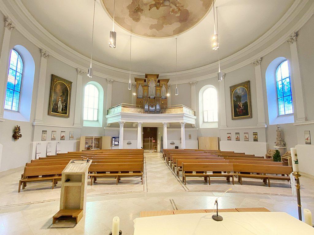 Kirchenraum. © Oliver Meidl