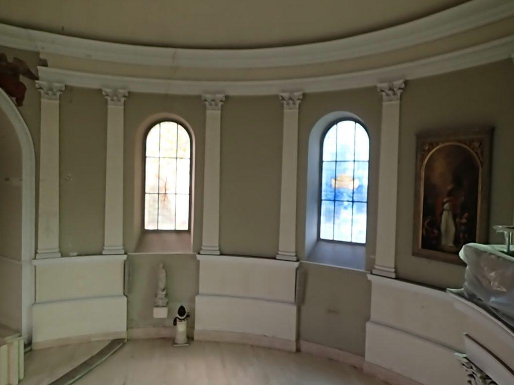 Renovierung der Kirche, Blick vom Chor, © Wolfgang Chalupsky