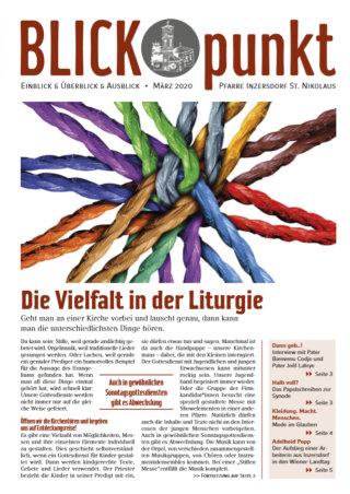 Cover des Blickpunkt März 2020