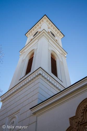 Kirchturm nach der Renovierung 2016. © Ing. Felix Mayer