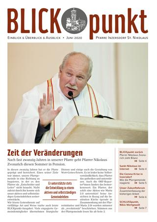 Cover des Blickpunkt Juni 2020